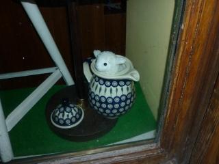 Schaf, das Laden-Maskottchen